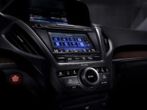 Acura MDX Interior Technology
