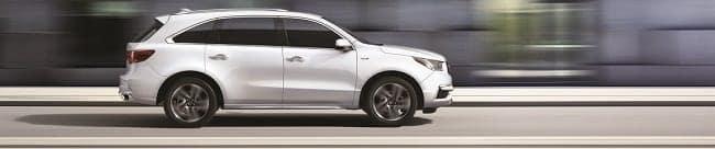2018 Acura MDX in White Diamond Pearl