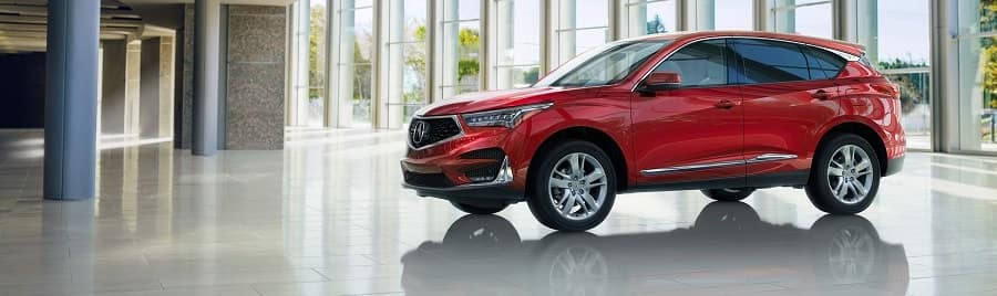 2019 Acura RDX in Red Pearl