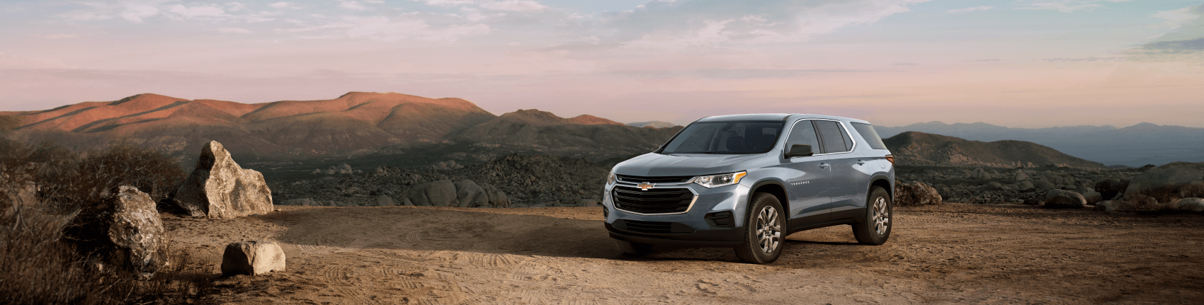 2021 Chevy Traverse Steel Mountain Desert