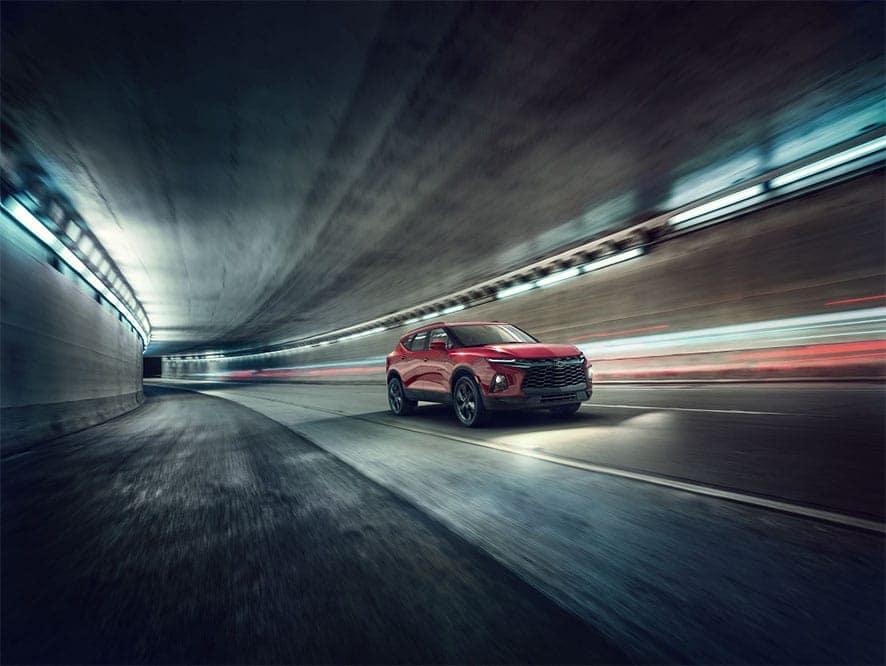 blazer-driving-through-tunnel
