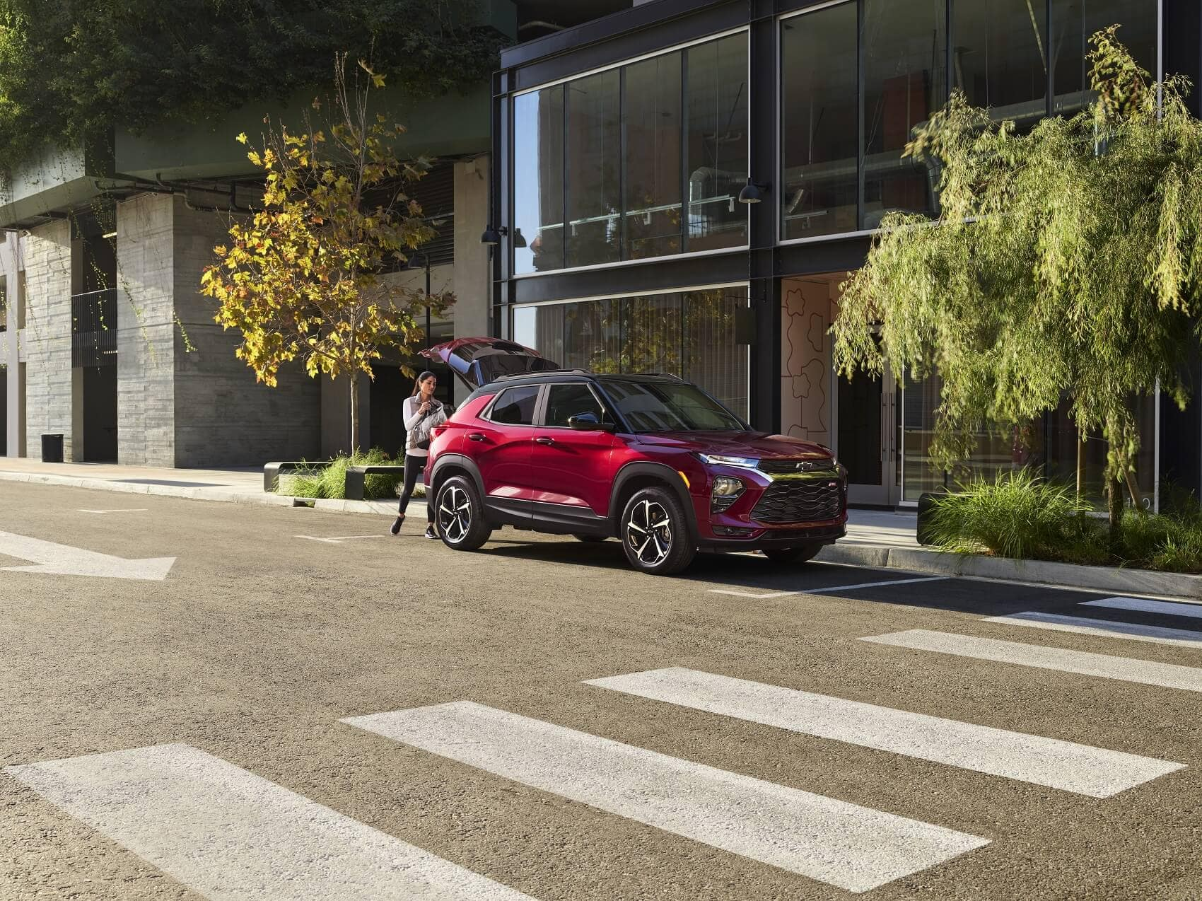 More Safety Features from the 2021 Chevy Trailblazer