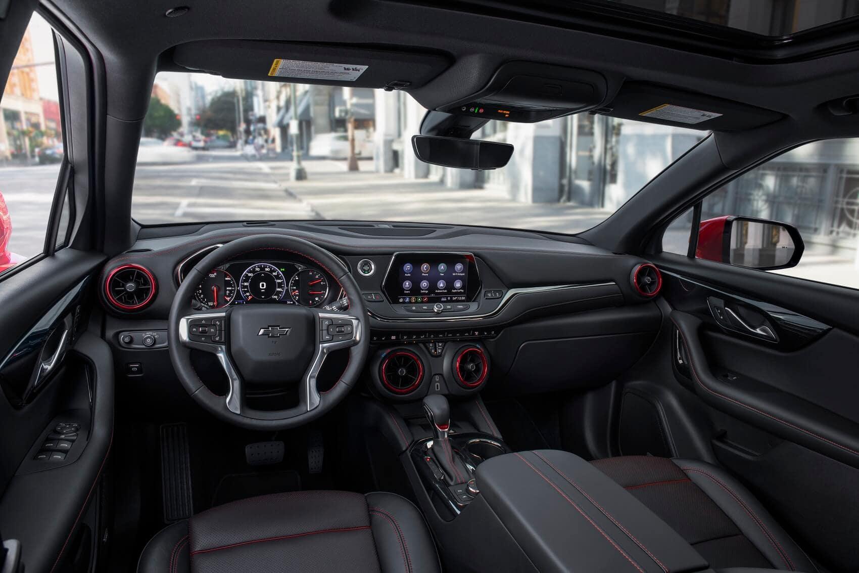 Technology in the Chevy Blazer and Chevy Trailblazer