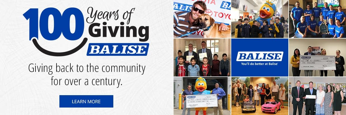 Balise 100 Years of Giving