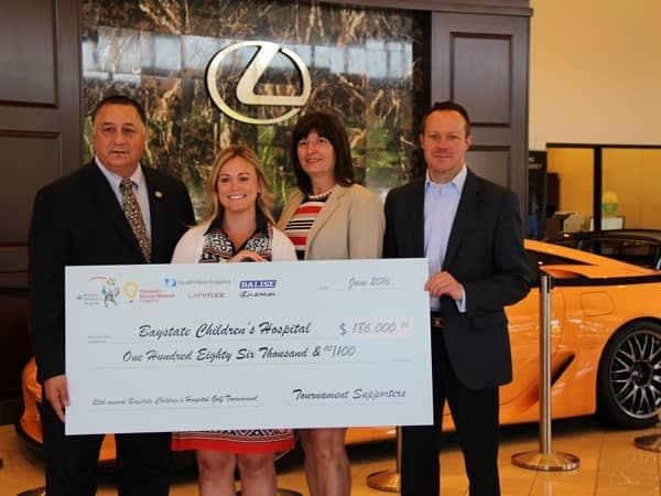 Community Image - $186K Raised for Local Children's Hospital with Help of Balise Lexus