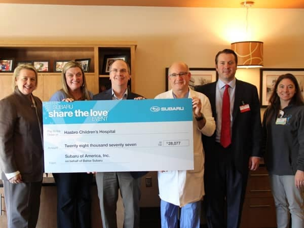 Community Image - 3-Years, Nearly $100,000 for Hasbro Children's Hospital