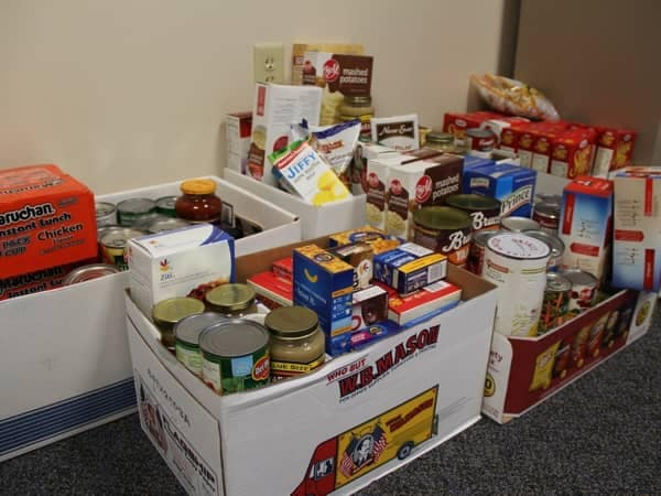 Community Image - Balise Hosts Corporate Food Drive for West Side Parish Cupboard