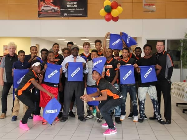 Community Image - Balise Nissan Sponsors West Elmwood Intruders Football
