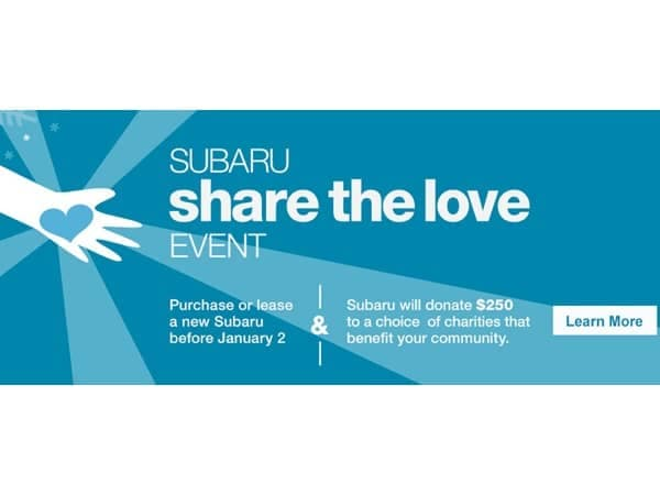 Community Image - Balise Subaru to Share the Love with Hasbro Children's Hospital