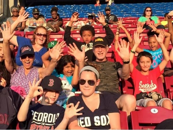 Community Image - Balise Toyota of Warwick Joins BBBSOC for Trip to PawSox