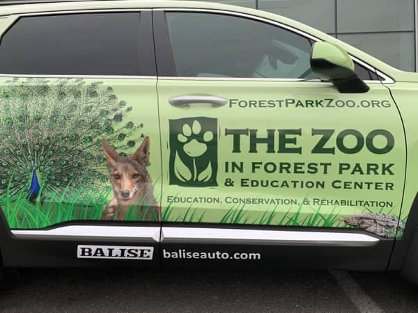 Community Image - Forest Park Zoo Reveals Balise Vehicle fro Zoo on the Go Program