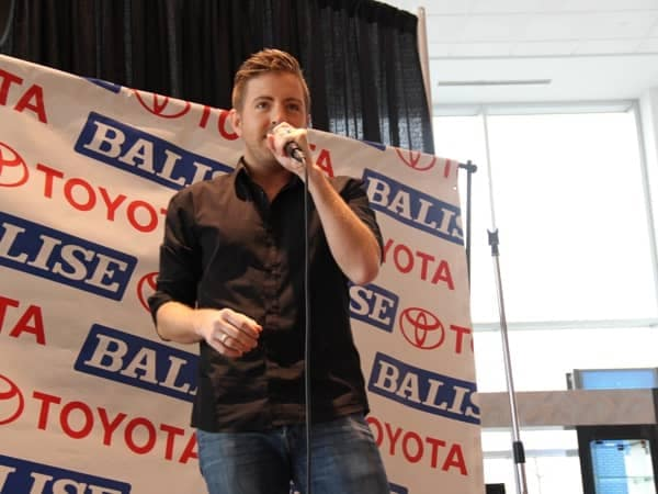 Community Image - Funds Raised for Hospital During Billy Gilman Concert at Balise