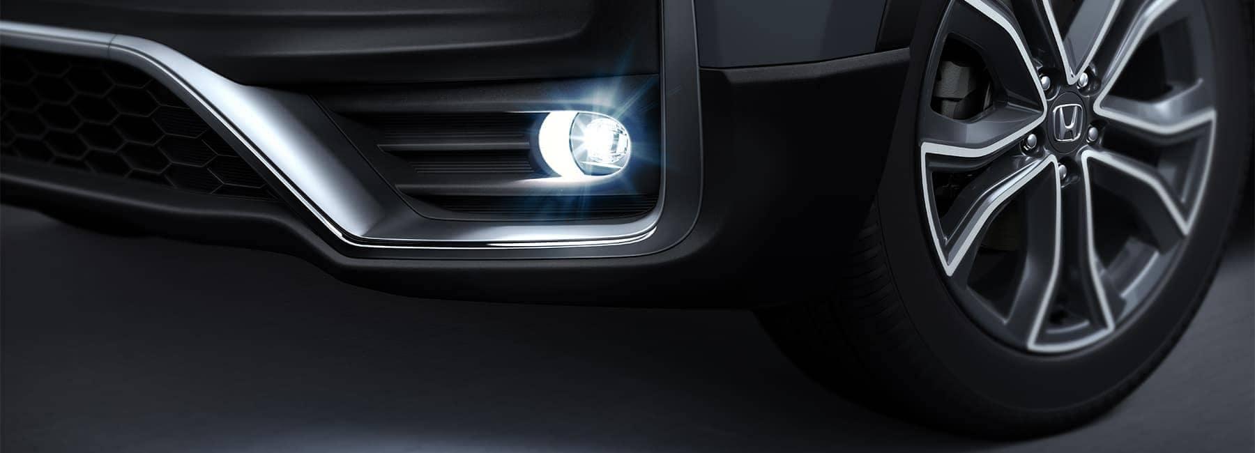 2020 Honda CR-V front wheel