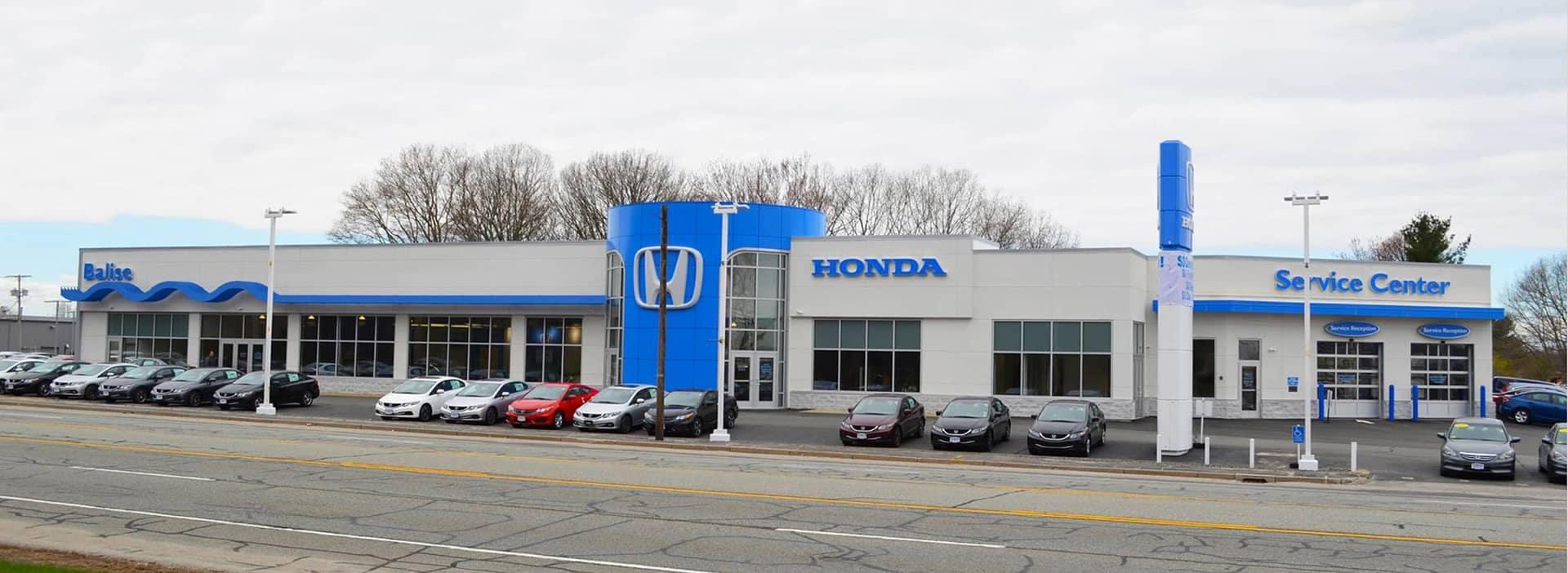 Balise Honda of West Warwick dealership exterior