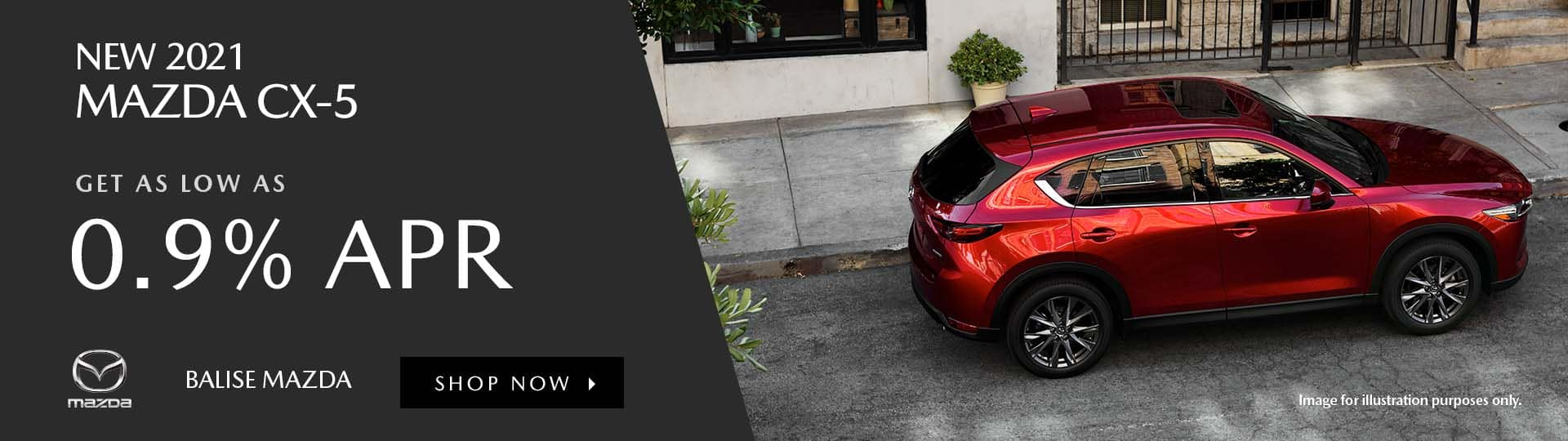 New 2021 Mazda CX-5 Special