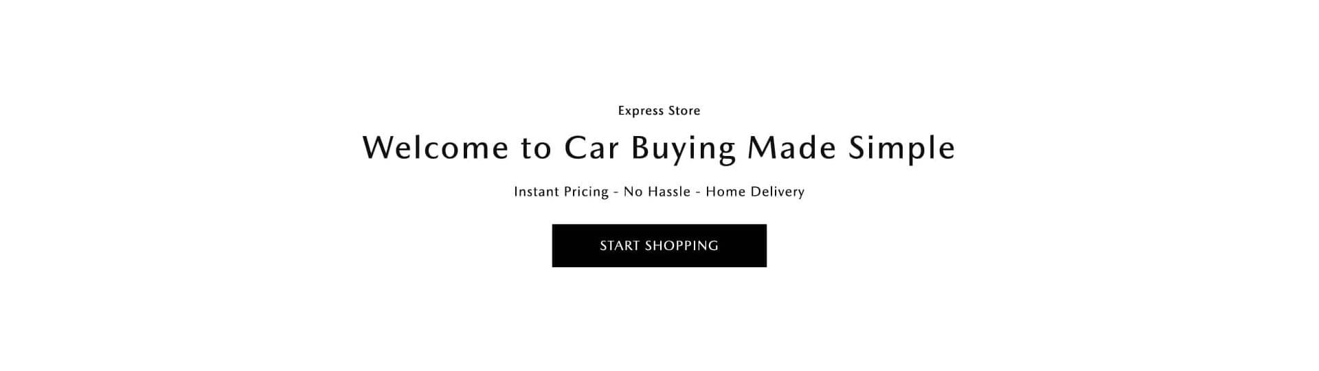 Balise Mazda Express Store