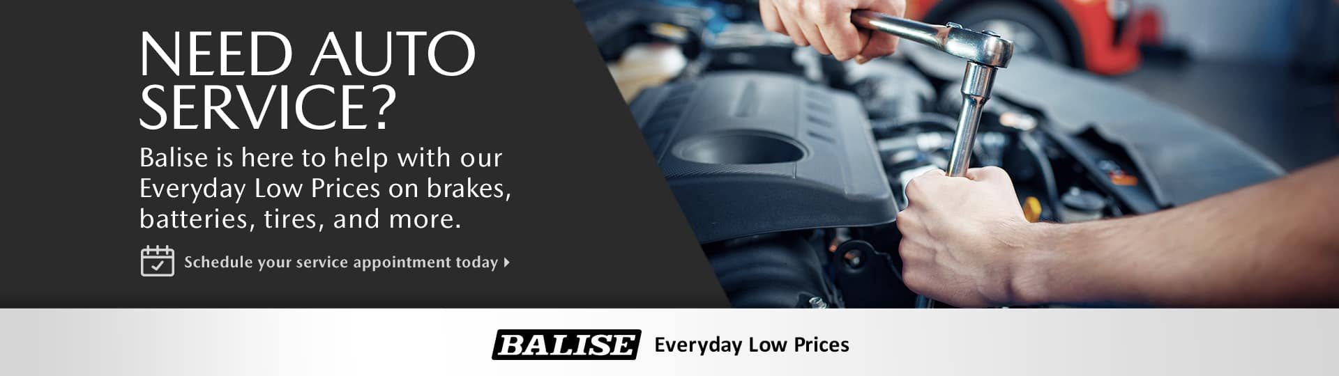 Balise Everyday Low Service Prices