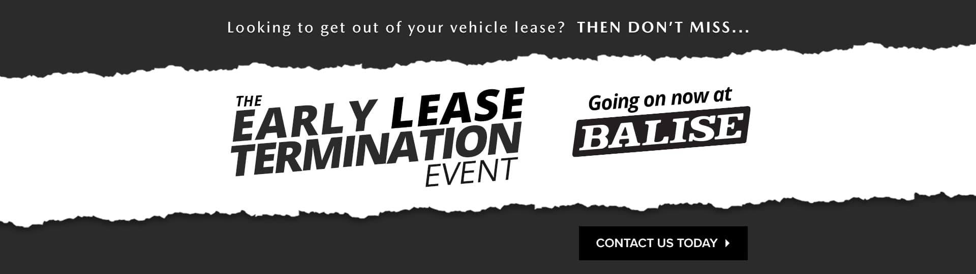 Early Lease Termination Event