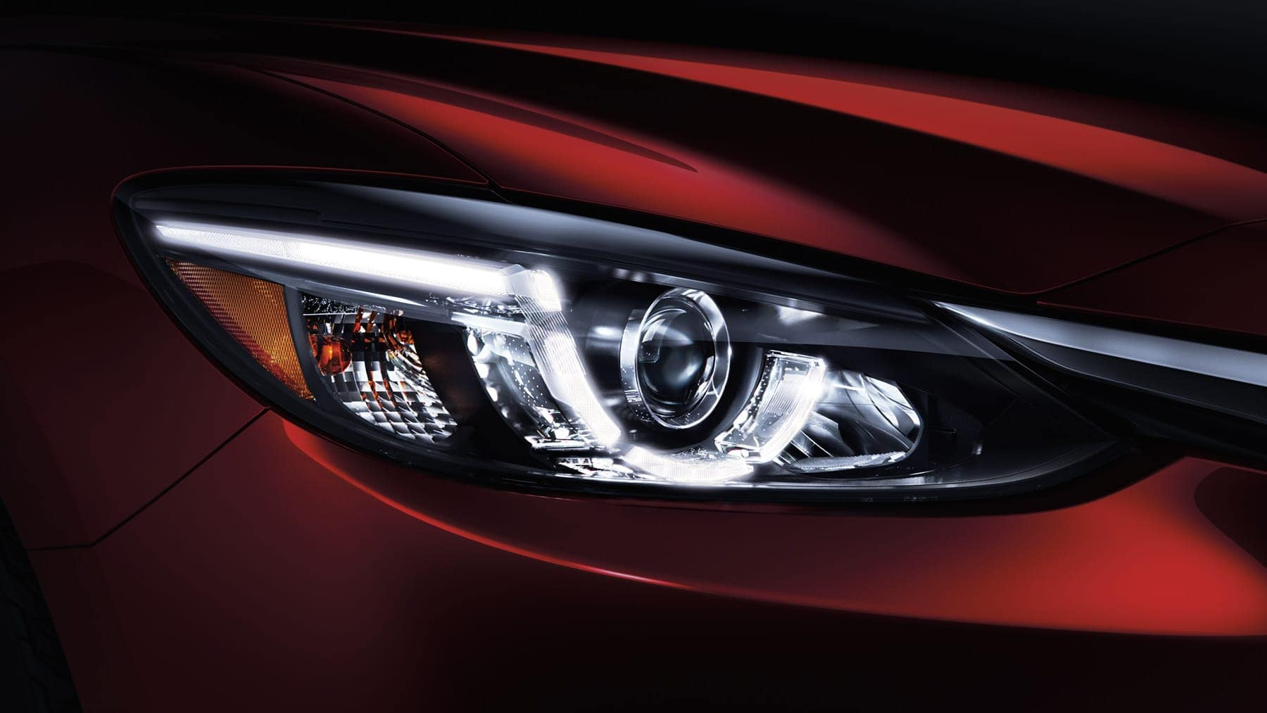 Mazda6 headlight detail