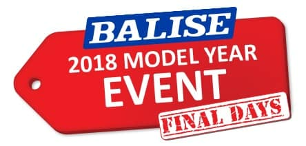 Balise 2018 Model Year Event - Final Days