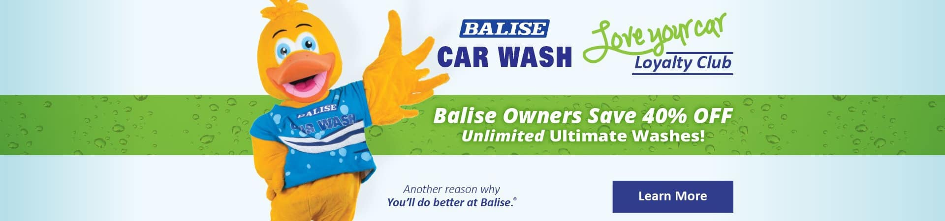 Balise Car Wash Loyalty Club