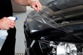 3m Paint Protection - technician applying it to a vehicle