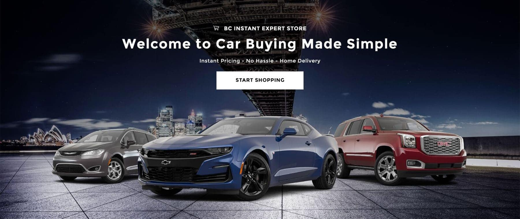 Welcome to Car Buying Made Simple. Start Shopping.
