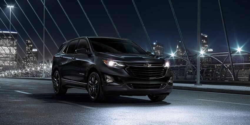 2020 Chevrolet Equinox At Night