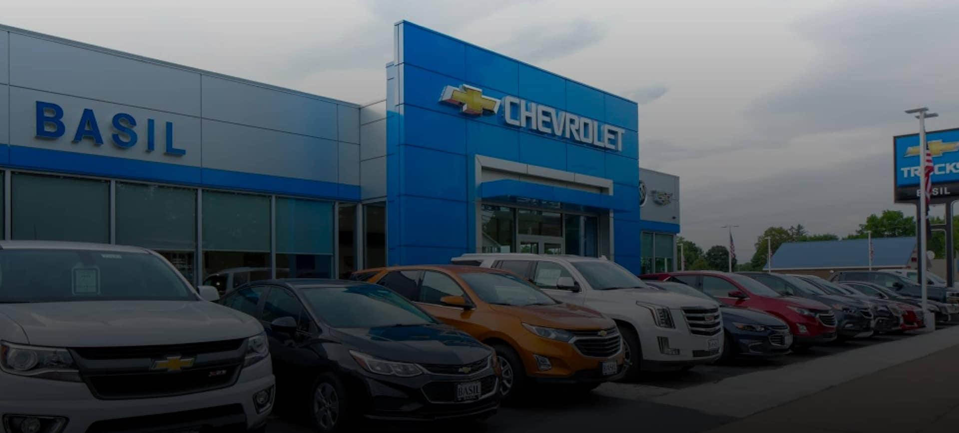 Basil Chevrolet storefront