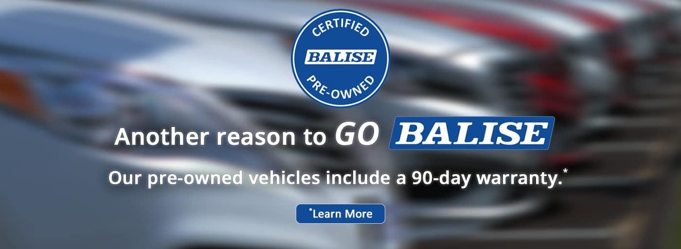 Balise Certified