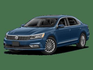 VW Passat blue model