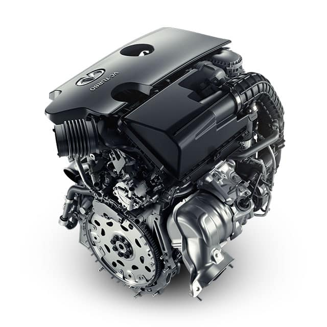 The all-new INFINITI VC Turbo Engine Standard on the new 2019 QX50