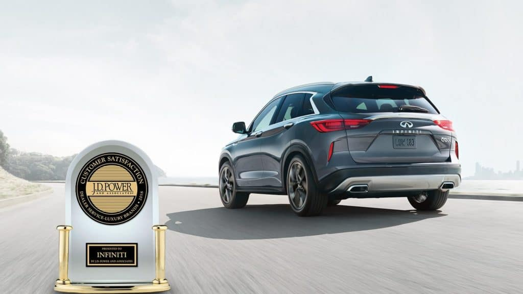 The all-new 2019 QX50 awarded J.D. PowerHighest in Customer Satisfaction