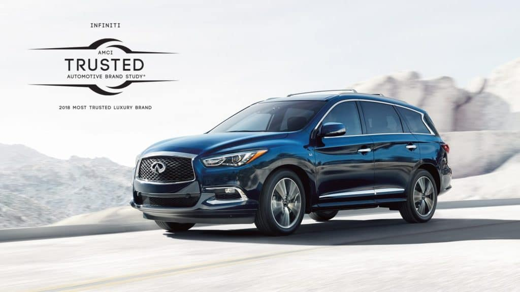 QX60 earns AMCI Most Trusted Luxury Auto Brand