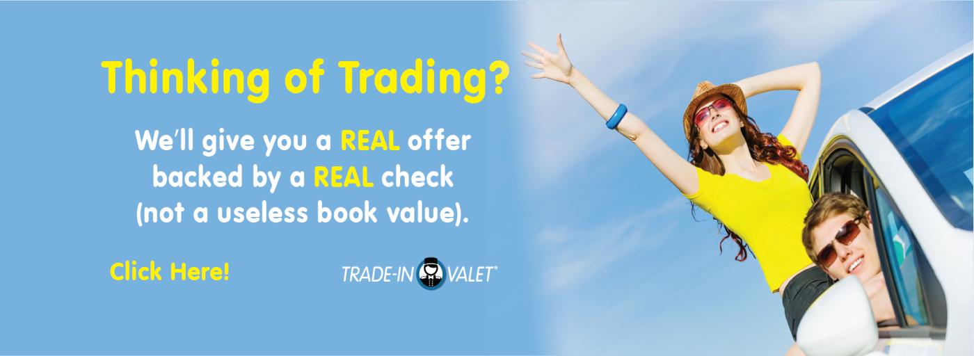trade in valet banner
