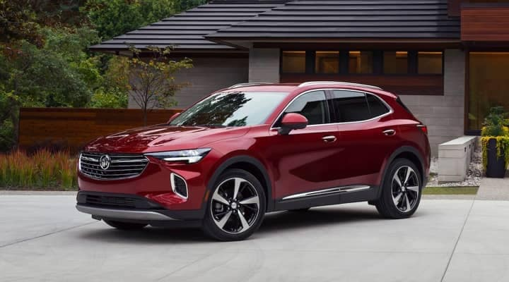Red Buick SUV