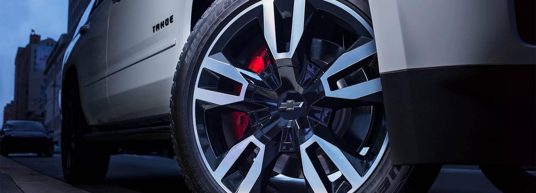 2020 Chevrolet Tahoe Full-Size SUV RST Edition wheels