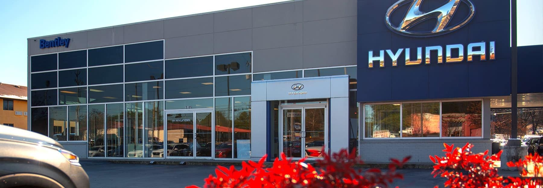 Bentley Hyundai Dealership Exterior