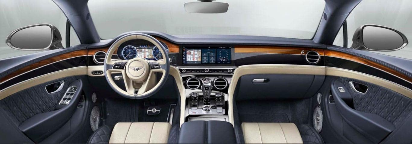 Interior of the Continental GT Convertible