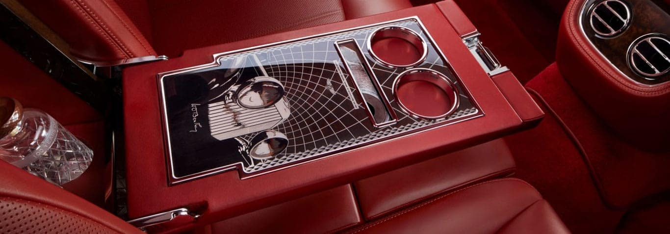 Image of the interior cup holders