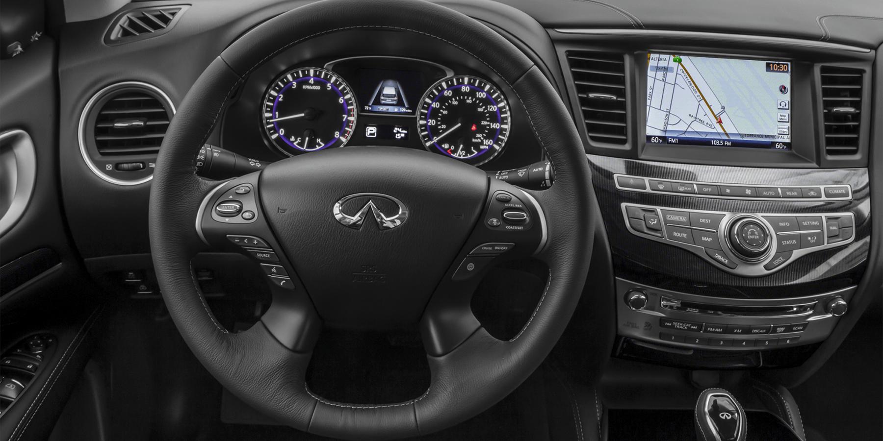 QX60 interior