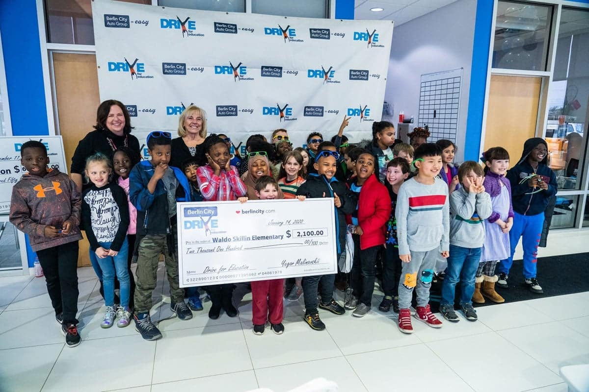 class receives grant money in Drive for Education program