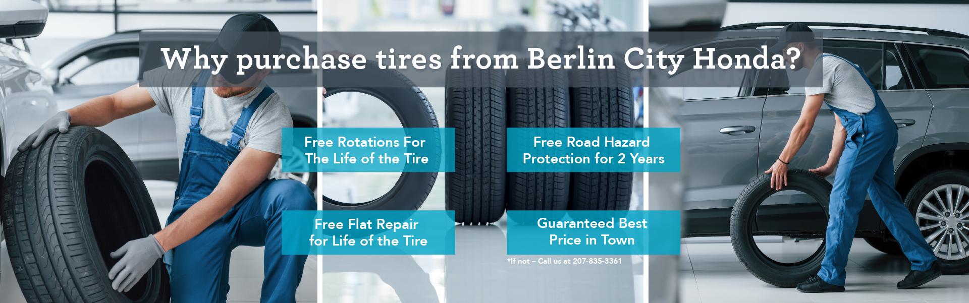 Berlin City Honda Tire store