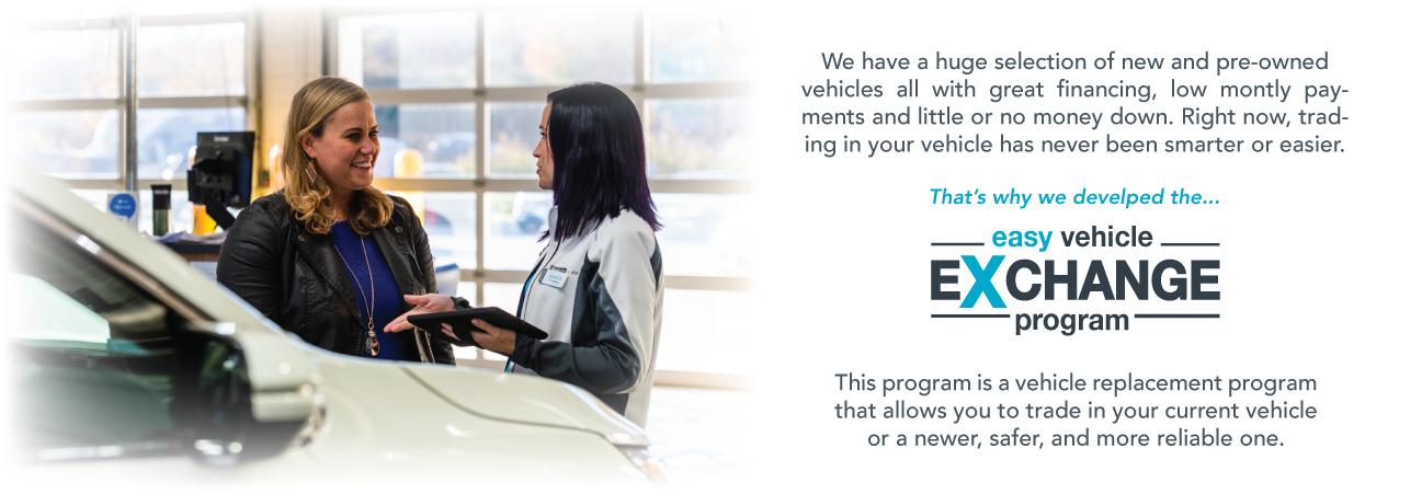 easy vehicle exchange program