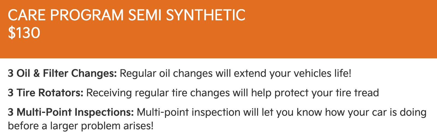 130 Semi Synthetic