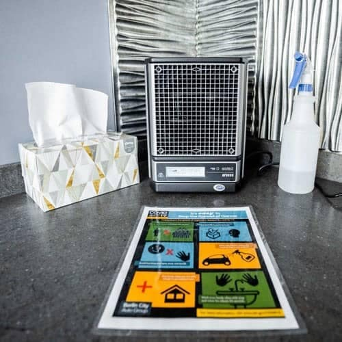Air Filtration by Active Pure