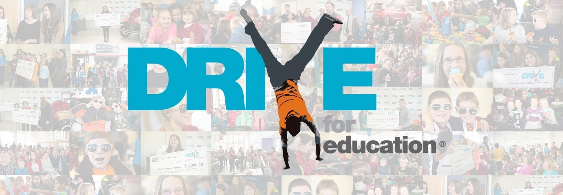 Drive for Education banner