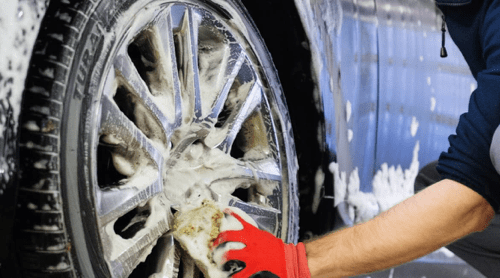 Washing Tire