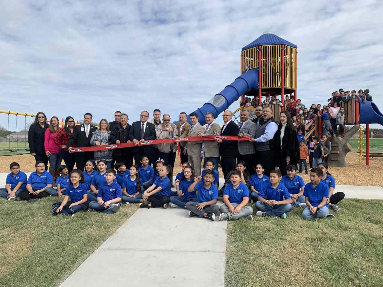 Ribbon Cutting for the Dr. Long Park in Pharr