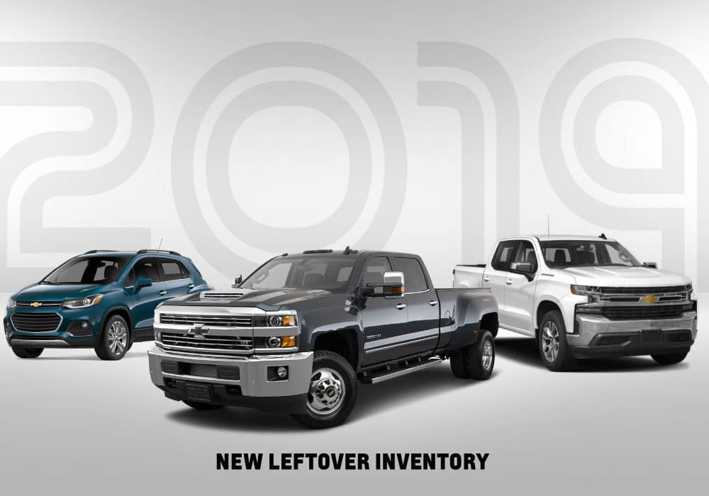 2019 New Leftovers Best Chevrolet